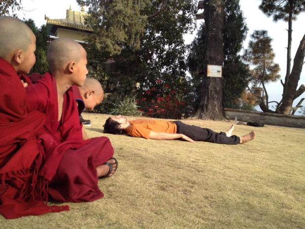 20 Abril TABU insta HISTORIA Foto de Mauro. Lugar- Kopan monastery en kathmandu